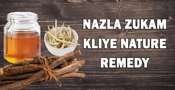 Nazla khansi ka gharelu ilaj - Flu fast treatment