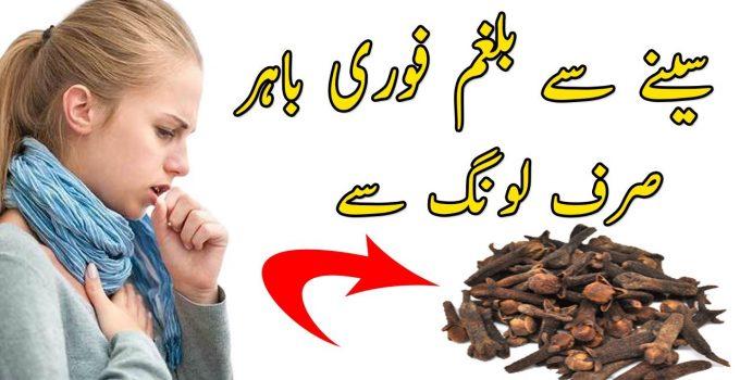 Seeny Main Balgham Ka Ilaj - Pain He Chest Treatment With LONG