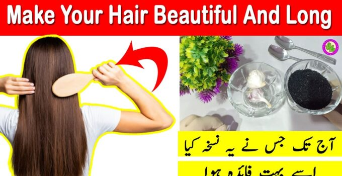 Now Make Your Hairs Thick And Long - Hair Solution With Garlic