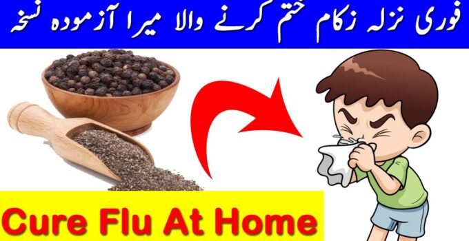 Cure Flu At Home
